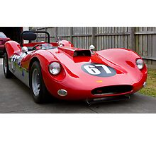 The Williams Special completed Photographic Print