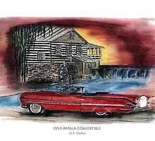 1959 IMPALA CONVERTIBLE by designsnimages