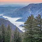 Fog blankets the Valley by TonyCrehan