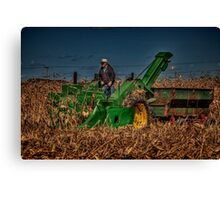 JD Corn Picker Canvas Print