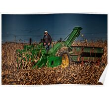 JD Corn Picker Poster