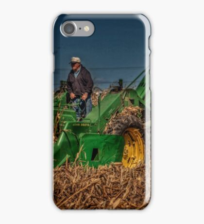 JD Corn Picker iPhone Case/Skin