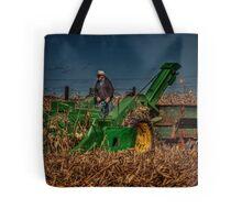 JD Corn Picker Tote Bag