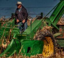 JD Corn Picker Sticker