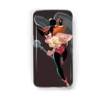 Hawkgirl Samsung Galaxy Case/Skin