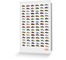 Trainers, Sneakers, Trabs, Trainees, Kicks........ Greeting Card