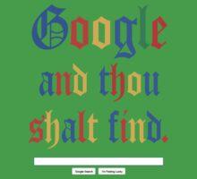 Google And Thou Shalt Find Kids Clothes