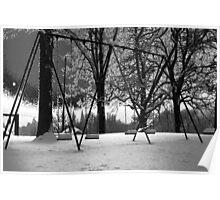 Playground Swing Poster