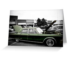 Chrysler New Yorker Greeting Card
