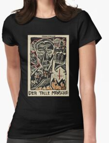 Parable of the Madman/Der tolle Mensch Womens Fitted T-Shirt