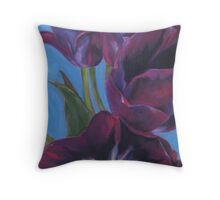 SOLD- Thinking Spring Throw Pillow