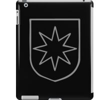 A Complete Guide to Heraldry - Figure 549 — Mullet of eight points iPad Case/Skin