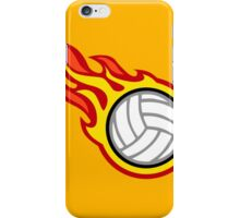 Volleyball On Fire iPhone Case/Skin