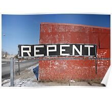 Repent  Poster