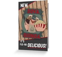 Dova Quinoa Greeting Card