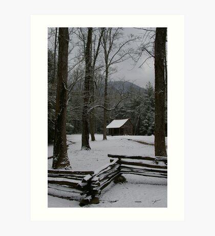 Carter Shields Cabin Art Print