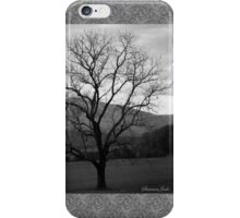 The Tree in the Field at Cades Cove iPhone Case/Skin
