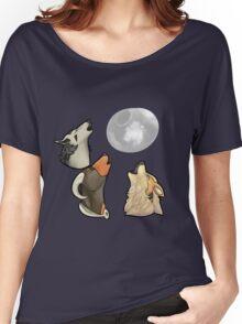 3 PokeMoon Women's Relaxed Fit T-Shirt