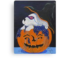 Halloween Bunny Canvas Print