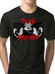 Train Insaiyan- Majin Vegeta Tri-blend T-Shirt