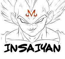 MAJIN VEGETA- TRAIN INSAIYAN by ravvstheworld