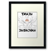 MAJIN VEGETA- TRAIN INSAIYAN Framed Print