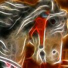 Carousel Horse by Sharon Morris