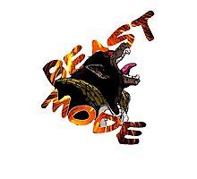 Beast Mode- Great Ape Photographic Print