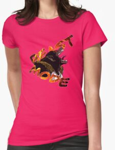Beast Mode- Great Ape Womens Fitted T-Shirt