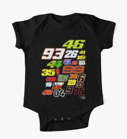 MotoGP Rider Numbers - 2015 One Piece - Short Sleeve
