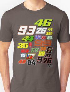 MotoGP Rider Numbers - 2015 T-Shirt
