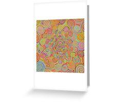 Swirls Greeting Card