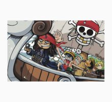 Johnny Depp meets Straw Hat Pirates Kids Clothes