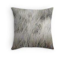 """""""Wind Blown Grass"""" Throw Pillow"""