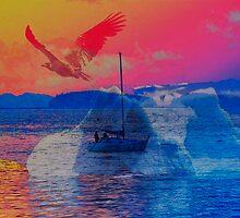 Altantic Meets The Pacific - Metaphorically Speaking by Gail Bridger