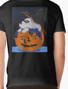 Halloween Bunny Mens V-Neck T-Shirt