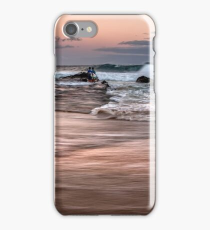 Surfing The Morning iPhone Case/Skin