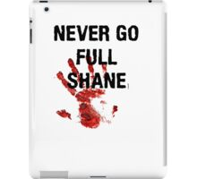 Full Shane iPad Case/Skin