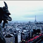 One Gargoyle in Paris by alanbrito