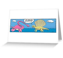 Feeling seasick! Greeting Card