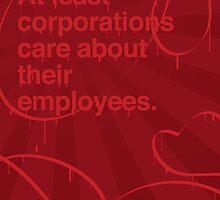 Corporations care by Christopheles Vanderlander
