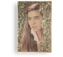 Sarah in the Labyrinth Canvas Print