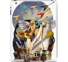 Swan and flying Vees iPad Case/Skin