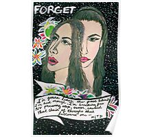 forget. Poster