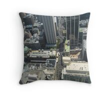 Above the City Throw Pillow