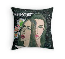forget. Throw Pillow