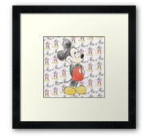 Mickey Mouse ♥ Framed Print
