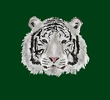 White Tiger (Green) by Jayden McLeod