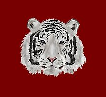 White Tiger (Red) by Jayden McLeod