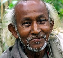 Assamese Man by John Mitchell